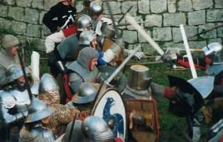 Vocabulaire médiéval Combat